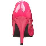 Fuchsia Lakeret 10 cm DREAM-420 kvinder høje hæle pumps
