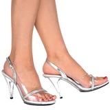 Gennemsigtig 10,5 cm CARESS-456 højhælet sko til kvinder