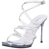 Gennemsigtig 11,5 cm CHIC-07 Sandaler med Stiletter Hæle