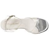 Gennemsigtig 11,5 cm GALA-06 Sandaler med Stiletter Hæle