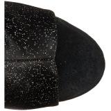 Glimmer 15 cm DELIGHT-1018MMG ankelstøvler med åben tå