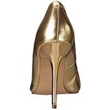 Guld Mat 10 cm CLASSIQUE-20 Dame Pumps Stilethæle Sko
