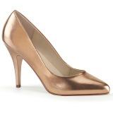 Guld Rose 10 cm VANITY-420 spidse pumps med høje hæle