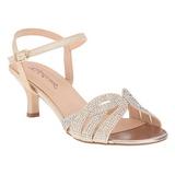 Guld Strass 6,5 cm AUDREY-03 højhælede sandaler til kvinder