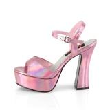 Hologram 13 cm DOLLY-09 platform demonia chunky high heels shoes
