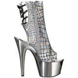 Hologram 18 cm ADORE-1018HG ankelstøvler damer med plateausål