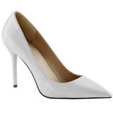 Hvid Lakeret 10 cm CLASSIQUE-20 spidse pumps med stiletter hæle
