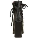 Kunstlæder 10 cm DEMONIA CRYPTO-51 ankelstøvler damer plateausål