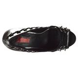 Kunstlæder 13,5 cm PIXIE-18 dame pumps sko med åben tå