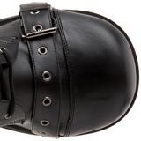 Kunstlæder 8,5 cm TRASHVILLE-205 Plateau Gothic Støvler til Mænd