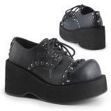 goth sko från demonia støvler emo plateaustøvler til kvinder