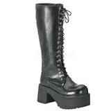 Kunstlæder 9,5 cm RANGER-302 Plateau Gothic Støvler til Mænd