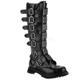 Læder REAPER-30 Punk Støvler til Mænd Gothic Støvler
