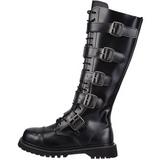 Læder RIOT-20 Punk Støvler til Mænd Gothic Støvler
