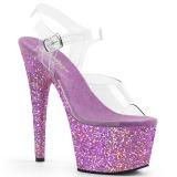 Lavendel glimmer 18 cm Pleaser ADORE-708LG poledance sko