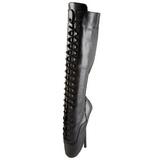 Leather 18 cm BALLET-2020 fetish ballet boots