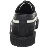 Leather 2,5 cm CREEPER-608 Platform Mens Creepers Shoes