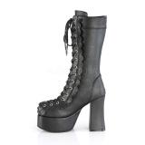 Leatherette 11,5 cm CHARADE-130 demonia boots platform