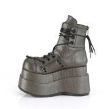 Leatherette 11,5 cm Demonia BEAR-120 gothic platform ankle boots