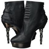 Leatherette 14 cm MUERTO-900 goth lolita platform ankle boots