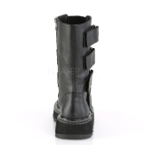 Leatherette 3 cm LILITH-211 demonia boots platform