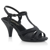 Leatherette 8 cm Fabulicious BELLE-322 low heeled sandals