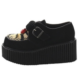 Leatherette CREEPER-213 Platform Women Creepers Shoes