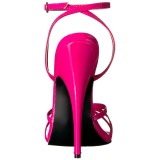 Lyserød 15 cm Devious DOMINA-108 højhælede sandaler til kvinder