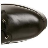 Mat 13 cm ELECTRA-2042 plateau damestøvler med spænder