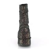 Multi Glitter 18 cm STACK-201G Plateau Ankelstøvler til Mænd
