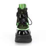Neon 7,5 cm NEPTUNE-126 demonia booties - unisex cyberpunk booties