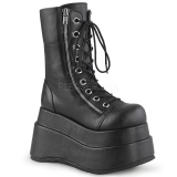 Patent 11 cm DEMONIA BEAR-104 goth ankle boots