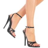Patent 15 cm Devious DOMINA-108 high heeled sandals