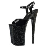Patent 23 cm Pleaser INFINITY-909MG glitter high heels shoes