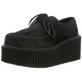 Pels 7,5 cm CREEPER-202 creepers sko dame plateausko tykke såler