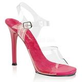 Pink 11,5 cm FABULICIOUS GALA-08 Fest sandaletter med høje hæl