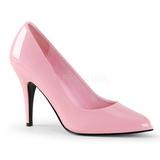 Pink Lakeret 10 cm VANITY-420 Dame Pumps Flade Hæle