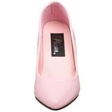 Pink Lakeret 10 cm VANITY-420 spidse pumps med høje hæle