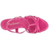 Pink Lakeret 12 cm FLAIR-420 Høje Damesandaler flade Hæl