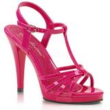 Pink Lakeret 12 cm FLAIR-420 højhælet sko til kvinder