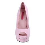 Pink Lakeret 13,5 cm BELLA-12 Dame Pumps Stilethæle Sko