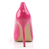Pink Lakeret 13 cm AMUSE-20 Dame Pumps Stilethæle Sko