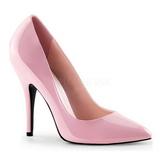Pink Lakeret 13 cm SEDUCE-420 spidse pumps med høje hæle