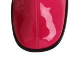 Pink Lakeret 8,5 cm GOGO-300 Høje Damestøvler til Mænd