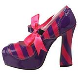 Pink Lilla 13 cm KITTY-32 damesko med høj hæl