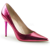 Pink Metallic 10 cm CLASSIQUE-20 Dame Pumps Stilethæle Sko