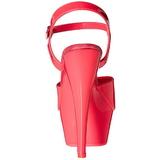 Pink Neon 15 cm Pleaser KISS-209UV Platform High Heels