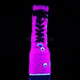 Pink Pels 18 cm SLAY-206 lolita ankelstøvler plateau