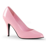 Pink Varnished 10 cm VANITY-420 Women Pumps Shoes Flat Heels