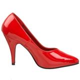 Rød Lakeret 10 cm DREAM-420 kvinder høje hæle pumps